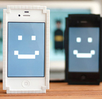 8bit Pixel iPhone 4 Case