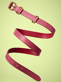 Gap Brass Double-Loop Belt