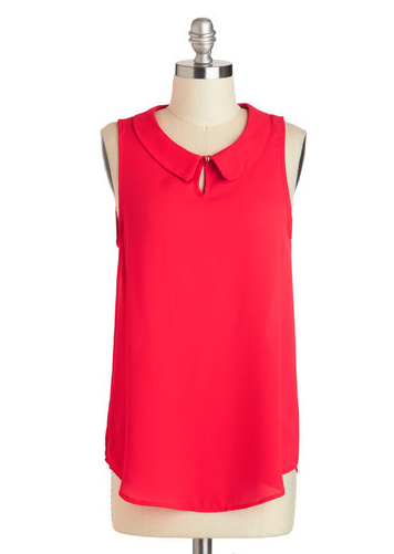 The Scarlet Go-Getter Top