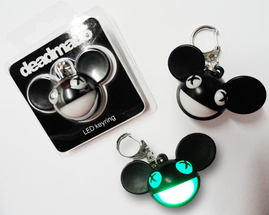 Deadmau5 LED Key Chain